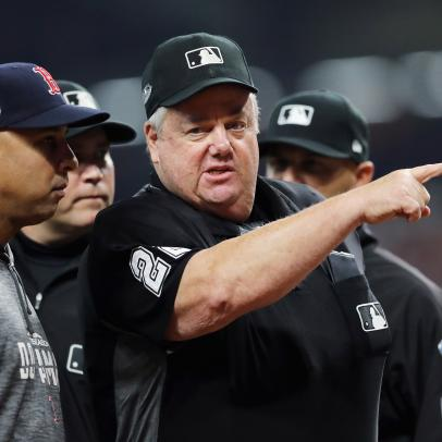 Even with no baseball, Joe West is still making terrible calls
