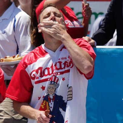For the first time in American history you can legally bet on the Nathan's Famous Hot Dog Eating Contest