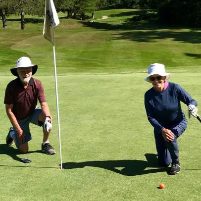 This woman got cheated out of her first hole-in-one in the most 2020 way