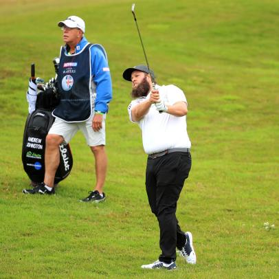 Andrew (Beef) Johnston WDs from British Masters, cites unease with the 'bubble' environment, being away from family