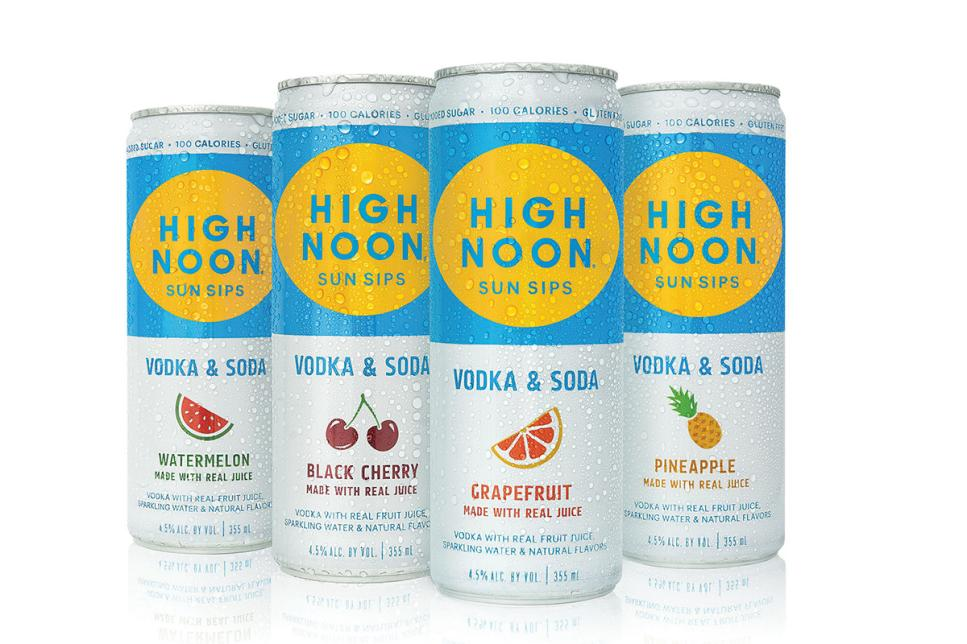 High Noon Sun Sips Cans No Ice
