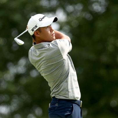 Collin Morikawa seems to have gotten over his first missed cut and four other takeaways from Thursday at the Workday Charity Open