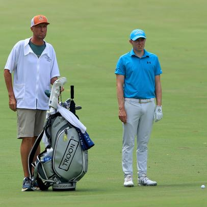 Jim (Bones) Mackay's two-week return to caddieing turns out to be more fun than he imagined
