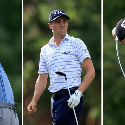 Thomas, Hovland and Morikawa set for electric final group on Sunday at Workday