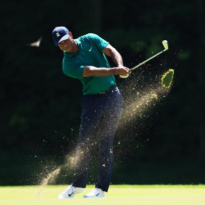 Pain-free Tiger Woods shoots smooth 71 in Memorial's third round