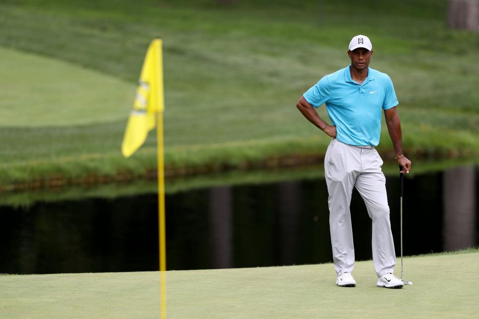 Pga Tour Tiger Woods : Tiger Woods ties Sam Snead's record ...