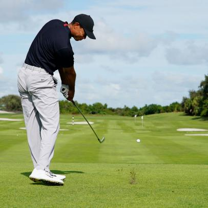 Tiger Woods: The time and place for the stinger