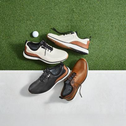 This upscale shoe company that once sponsored Arnold Palmer has returned to golf