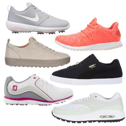 12 pairs of women's golf shoes on sale right now