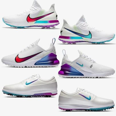 Nike releases three limited-edition NRG golf shoes with bold pops of color