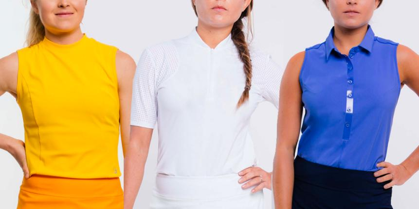 More women's golf shirts to consider: Foray Golf