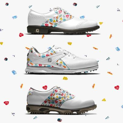 A closer look at FootJoy's newest collection featuring artwork from patients at St. Jude Children's Research Hospital
