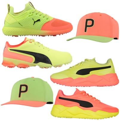Puma's Rise Up collection brings neon to the golf course in a most stylish and head-turning way