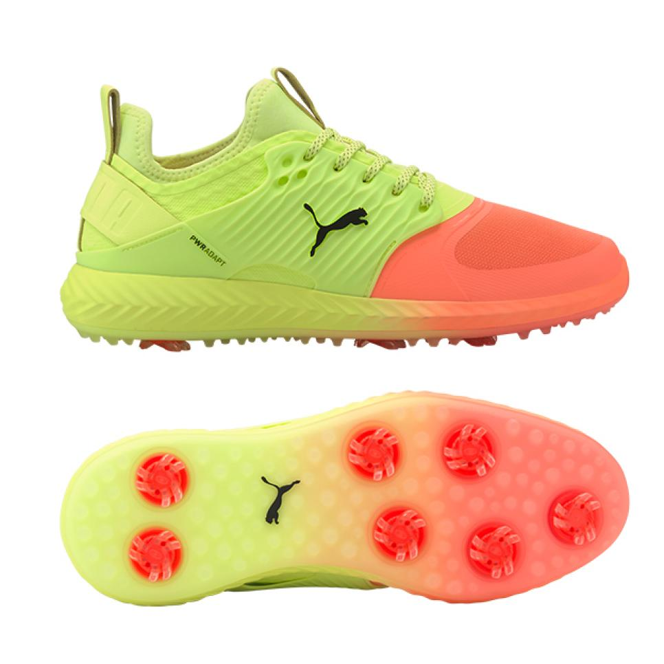 Puma S Rise Up Collection Brings Neon To The Golf Course In A Most Stylish And Head Turning Way Golf Digest