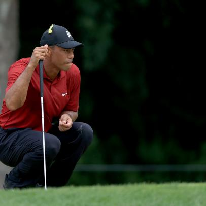 PGA Championship 2020: Tiger Woods switches to new putter at year's first major