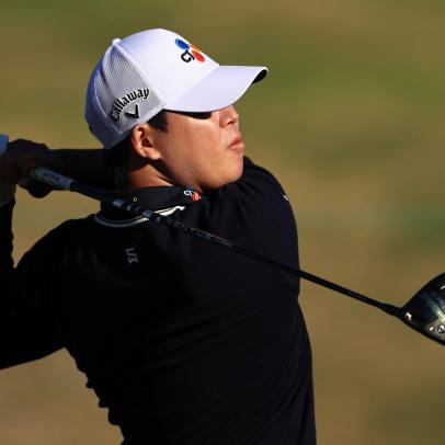 The clubs Si Woo Kim used to win the 2021 American Express