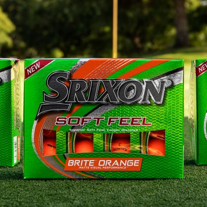 Srixon's Soft Feel Brite upgrades core for energy to match that of its flashy cover colors, while keeping its namesake attribute