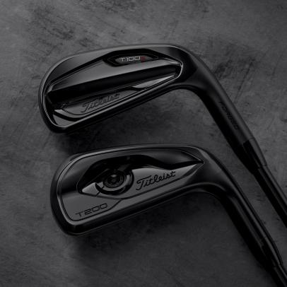 Titleist offers T100•S, T200 irons in 'stunning' all-black finish