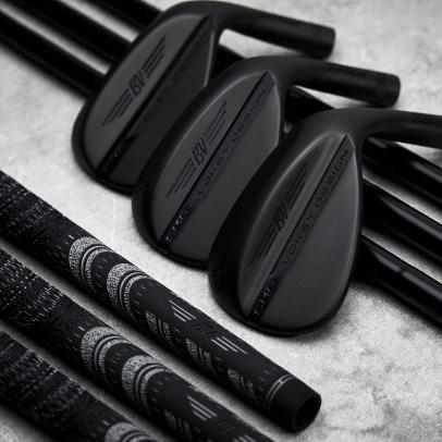 "Titleist Vokey Design SM8 adds ""Jet Black"" finish option"