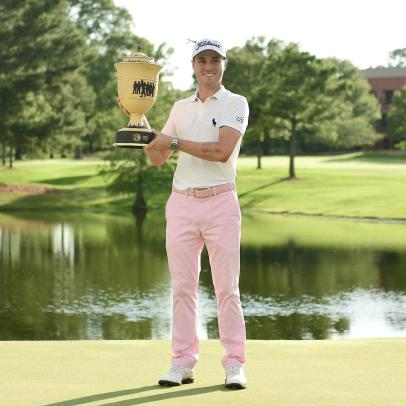 Justin Thomas gets 'unbelievably lucky' in Memphis but also shows how much he knows about winning