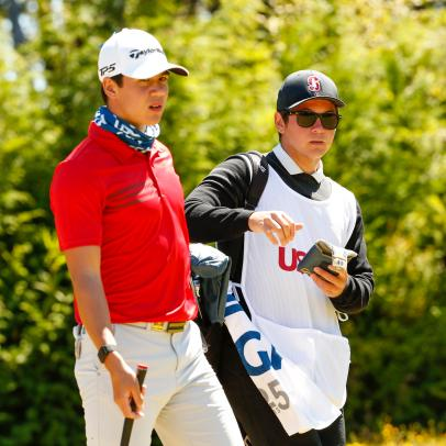 U.S. Amateur upstart has secret weapon: caddie who might be better than him