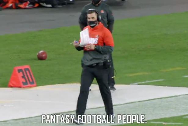 UPSET OF THE CENTURY: Apparently, some NFL coaches and players DO care about your fantasy teams
