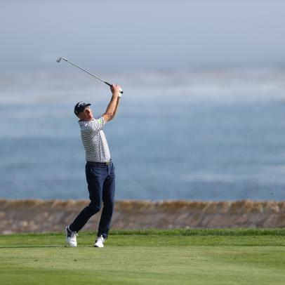 Jim Furyk wins in a playoff, while Ernie Els' Pebble Beach disappointments mount