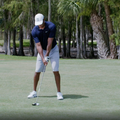 Tiger Woods: You don't need to 'sweep' your fairway woods