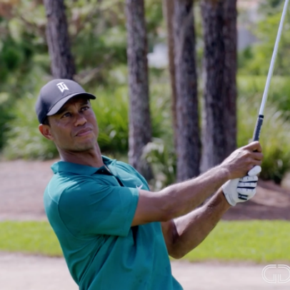 Tiger Woods' secret to hitting irons on the number