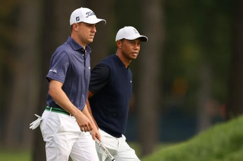 Masters 2021: Justin Thomas talks Tiger Woods, friendship and fast-food cravings