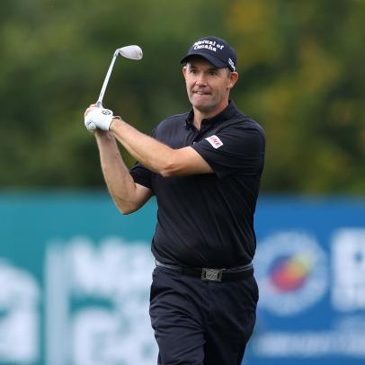 This would have been Ryder Cup week, and Padraig Harrington can't help think about Whistling Straits