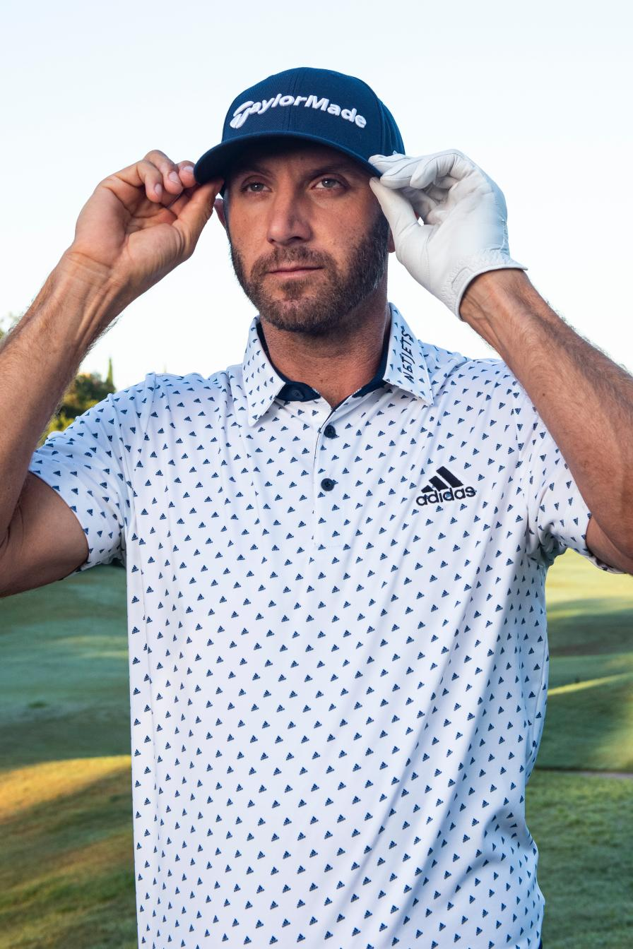 You might be surprised how particular Dustin Johnson is about his style
