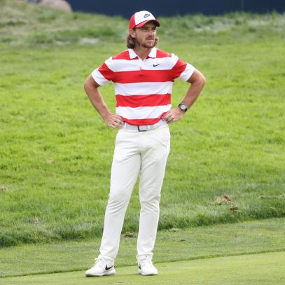 U.S. Open 2020: Why Tommy Fleetwood can pull off the 'Where's Waldo' look, but you definitely can't