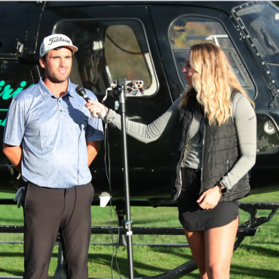 Korn Ferry Tour pro wins local event after helicopter ride to playoff hole