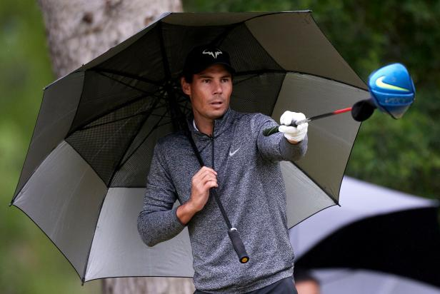 Brooks Koepka gets called out by someone much bigger, Rafael Nadal turns heads for his golf and Bryson DeChambeau's longest drive yet