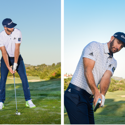 How Dustin Johnson rediscovered his iron game