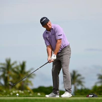 Fred Funk, at 64 years old and averaging less than 240 yards off the tee, makes cut at PGA Tour event