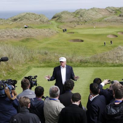New Trump golf course approved for Scotland