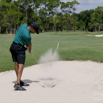 How Tiger Woods hits the one shot you hate