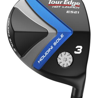 Tour Edge Hot Launch C521/E521 fairways, hybrids offer two kinds of help—traditional and extreme