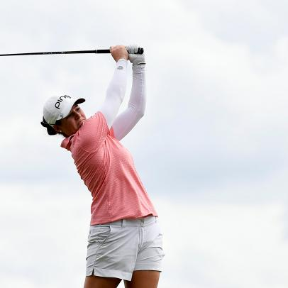 Ally McDonald went into match-play mode and became the latest first-time LPGA Tour winner