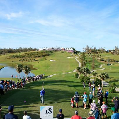 Fans return to PGA Tour this week in Bermuda while questions about safety persist