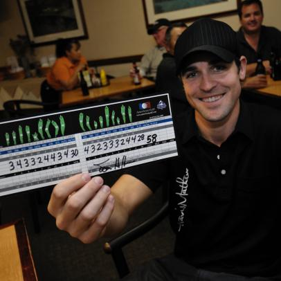 A first in golf history? Amateur scores second 58 of his life