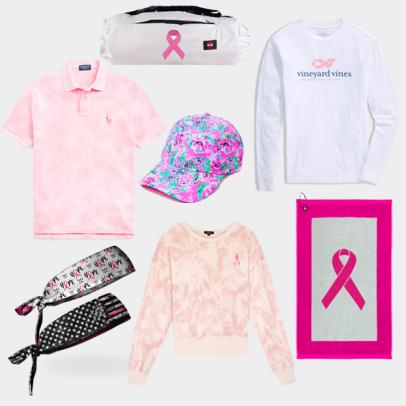 Our 11 favorite golf products that support the fight against breast cancer