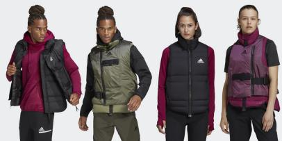Upgrade your old cold-weather gear with Adidas' stylish, warm options