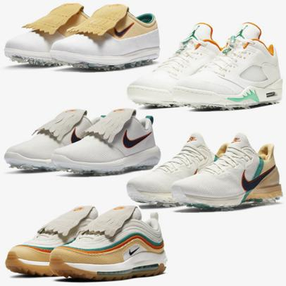 Nike releases vintage-inspired corduroy golf shoes during Masters week