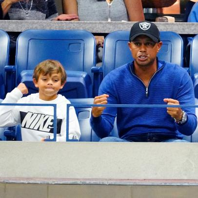Believe it or not, Tiger Woods and son Charlie are not the favorites to win the PNC Championship