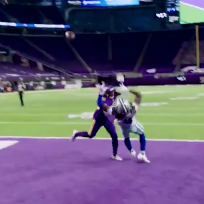 There's an even more ridiculous angle of the ridiculous catch by the ridiculously-good Ceedee Lamb
