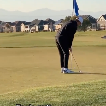 Would you ever recover from a four-putt this bad?