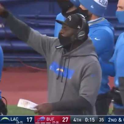 Chargers head coach Anthony Lynn may have had the worst clock-management performance in NFL history on Sunday